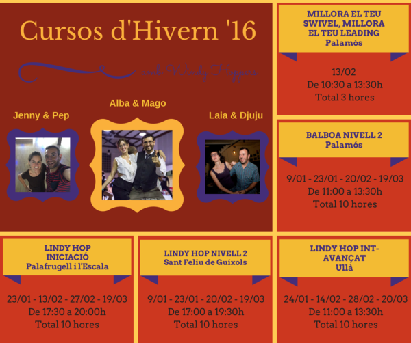 Planning Trimestre Hivern 2016